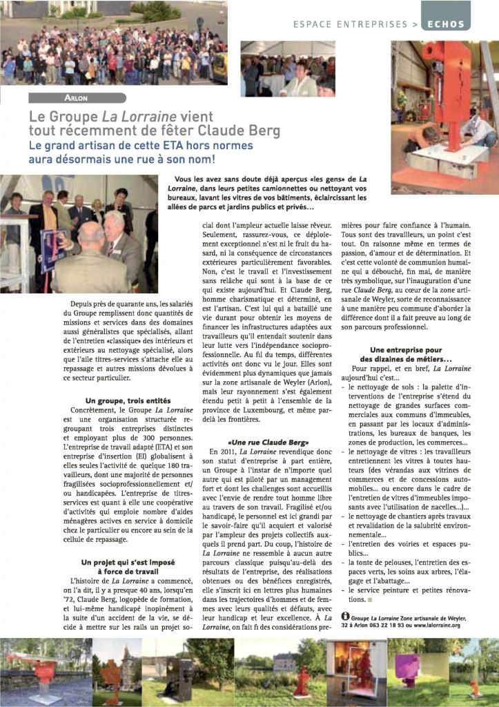 Journal CCI 2011